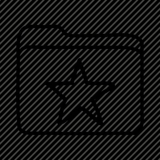 favorites, favorites folder, file, files, folder, folders, star folder icon