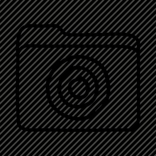 bullseye, download, file, files, folder, folders, target folder icon