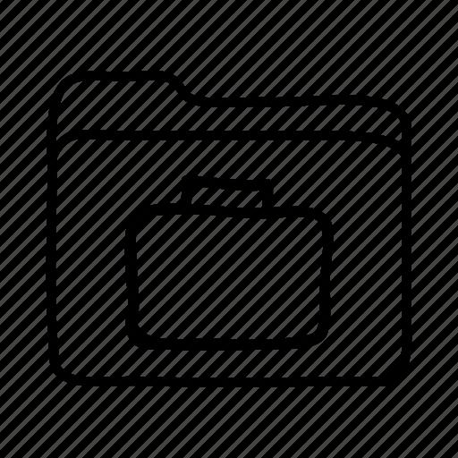 briefcase, business folder, download, file, files, folder, folders icon