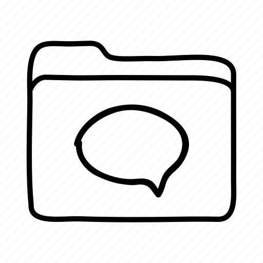 download, file, files, folder, folders, messages, speech bubble icon