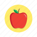 apple, fruit, healthy, vegetables icon