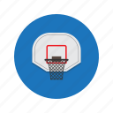 basket, basketball, net icon