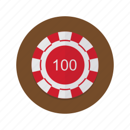 casino, chip, chips, poker icon