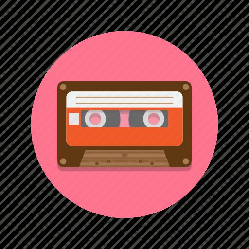 audio, cassette, mixtape, music, tape icon