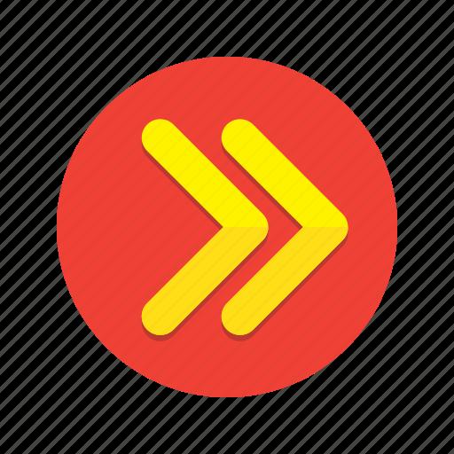 arrow, chevron, forward, navigation, next icon
