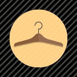 clothes, coat, hanger icon