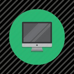 computer, desktop, mac, monitor, pc icon