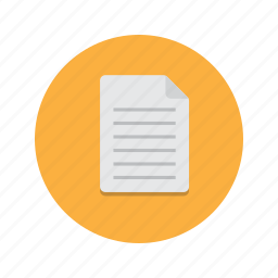 document, documents, note, notes, paper icon