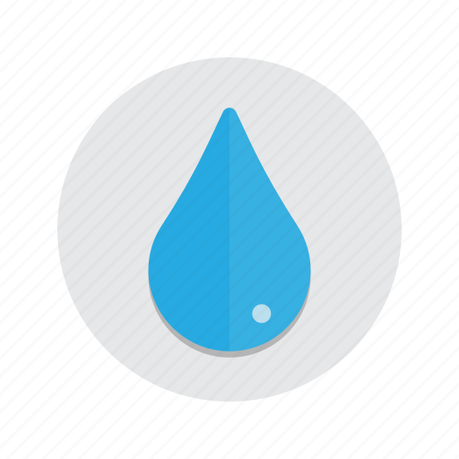 drop, droplet, liquid, rain, water icon