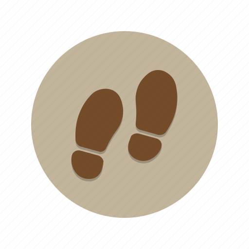 feet, foot, footsteps, shoe, shoes, stalk, step icon