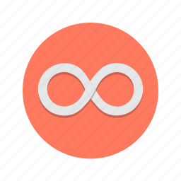infinite, infinity, loop, looping, repeat icon