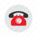 call, landline, mobile, phone, telephone icon
