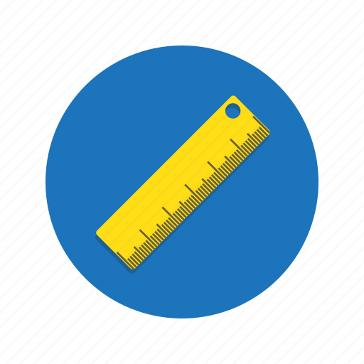 cm, length, measure, measurement, rule, ruler, width icon