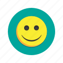 emoji, emoticon, happy, smile, smiley icon