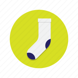 clothes, clothing, feet, foot, sock, socks icon