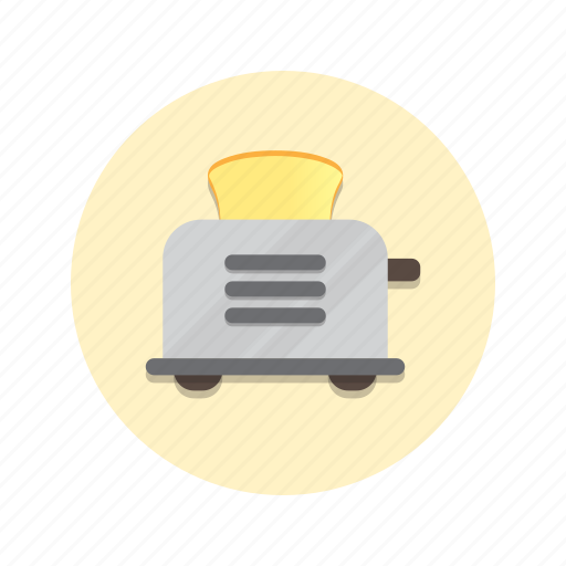Bread, breakfast, food, toast, toaster icon - Download on Iconfinder