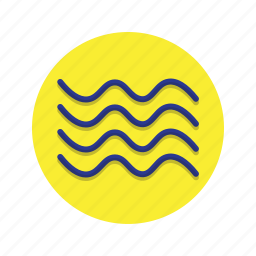 bumps, lines, undulate, waves, wavy icon