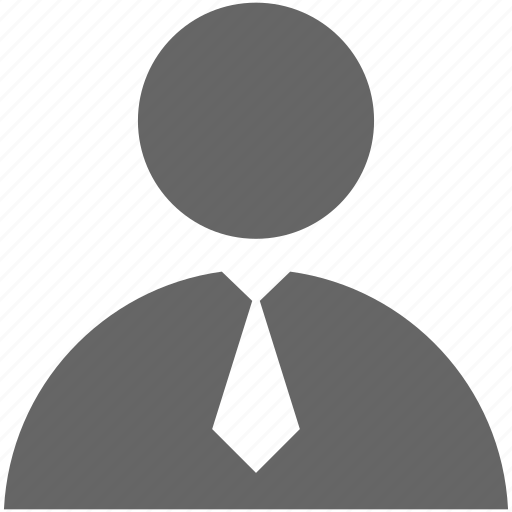 business, employee, tie, user icon