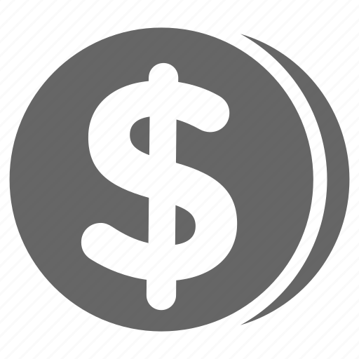 bitcoin, coin, dollar, money icon