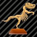 dinosaur, halloween, skeleton, skull