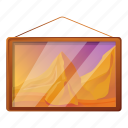 picture, gallery, computer, business, frame, hand icon