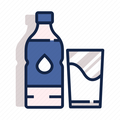 Healthy, gym, drink, water, drinking water, drinking, exercise icon