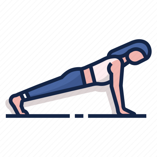 exercise, fitness, muscle, push up, pushup, workout icon