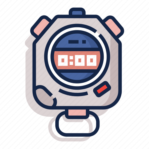 clock, measurement, stop, stopwatch, time, timer, watch icon