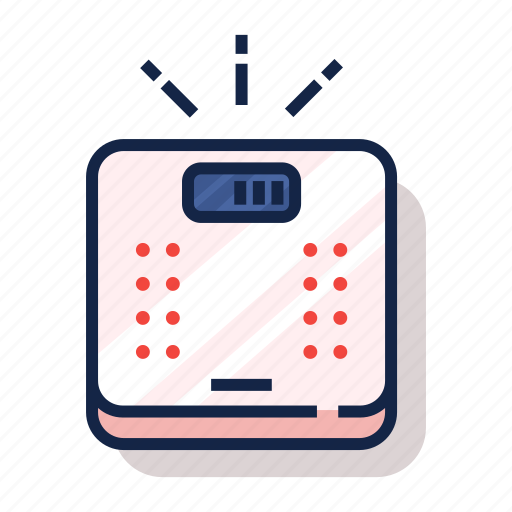 diet, exercise, fitness, healthy, scale, weight, weight scale icon