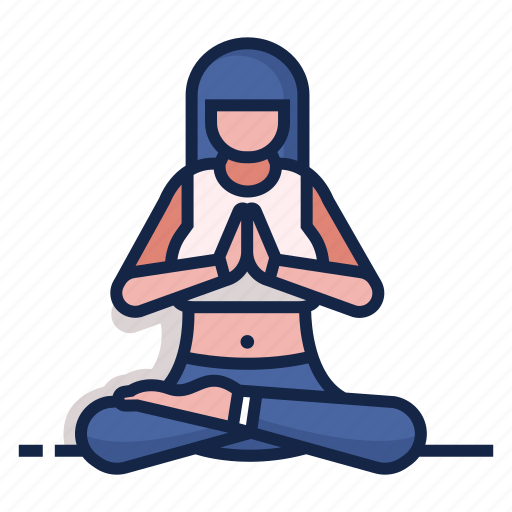 Class, exercise, fitness, meditation, pose, wellness, yoga icon - Download on Iconfinder