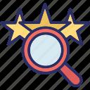 rank search, search rating, seo, seo marketing icon
