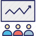 business conference, business training, online presentation, ppt presentation icon
