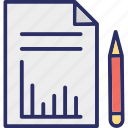 business evaluation, business plan, business report, marketing plan icon