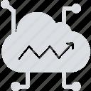 cloud computing, cloud data, cloud hosting, cloud network icon