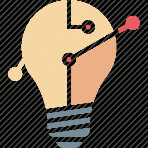business idea, creative idea, idea creation, idea generation icon
