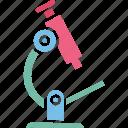 digital microscope, lab apparatus, microscope, scientific device icon