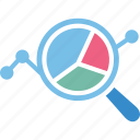analytics, business evaluation, graphical analysis, statistical analysis icon