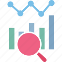 business plan, business research, market research, quantitative research icon