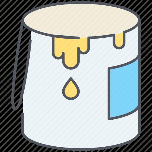 art, bucket, color, design, graphic, paint, paint bucket icon