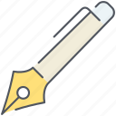 document, edit, ink, paper, pen, tool, writing icon