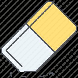 clean, delete, eraser, remove, rubber icon