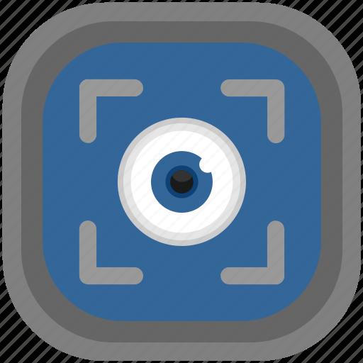 diagnostics, eye, glasses, look, vision, visual, watch icon