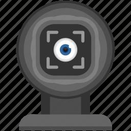 diagnostics, eye, look, search, view, vision, visual icon
