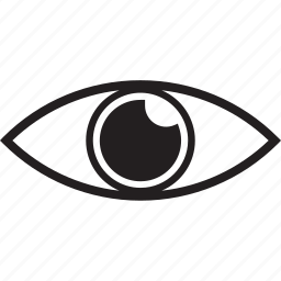 eye, intrigued icon