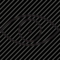 eye, shocked icon