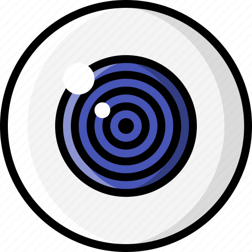 eye, eyeball, eyesight, hypnotized, optometry, trance, vision icon