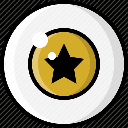 eye, eyeball, eyesight, star, starry, vision icon