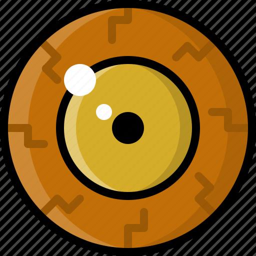 eye, eyeball, eyesight, monster, vision, zombie icon