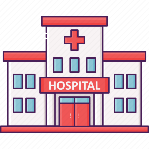 building, city, emergency, health, hospital icon