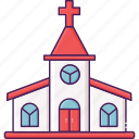 building, church, city, religion